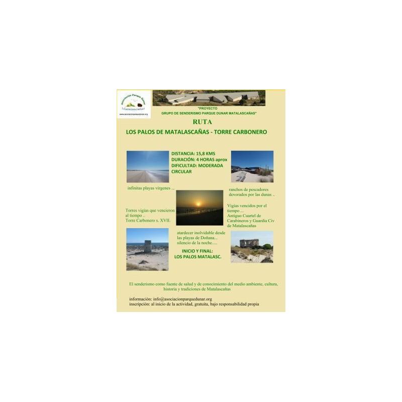 Ruta seminocturna Los Palos de Matalascañas-Torre Carbonero