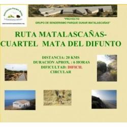 RUTA MATALASCAÑAS - CUARTEL MATA DEL DIFUNTO