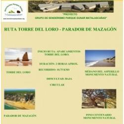 RUTA TORRE DEL LORO-PARADOR DE MAZAGON
