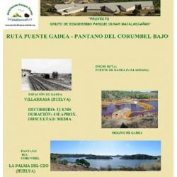 RUTA PUENTE DE GADEA - PANTANO DEL CORUMBEL BAJO