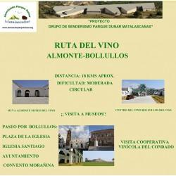RUTA DEL VINO ALMONTE-BOLLULLOS Y SOLICITUD DE INSCRIPCIÓN ONLINE GRATUITA
