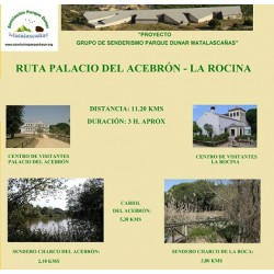 RUTA PALACIO DEL ACEBRÓN-LA ROCINA