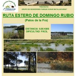 RUTA ESTERO DEL RUBIO