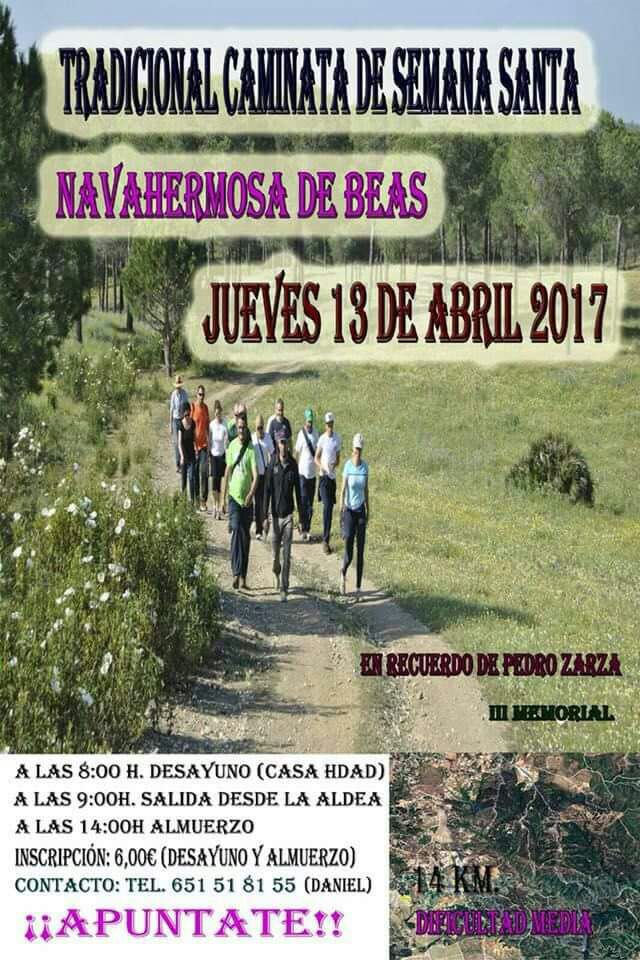 RUTA NAVAHERMOSA DE BEAS