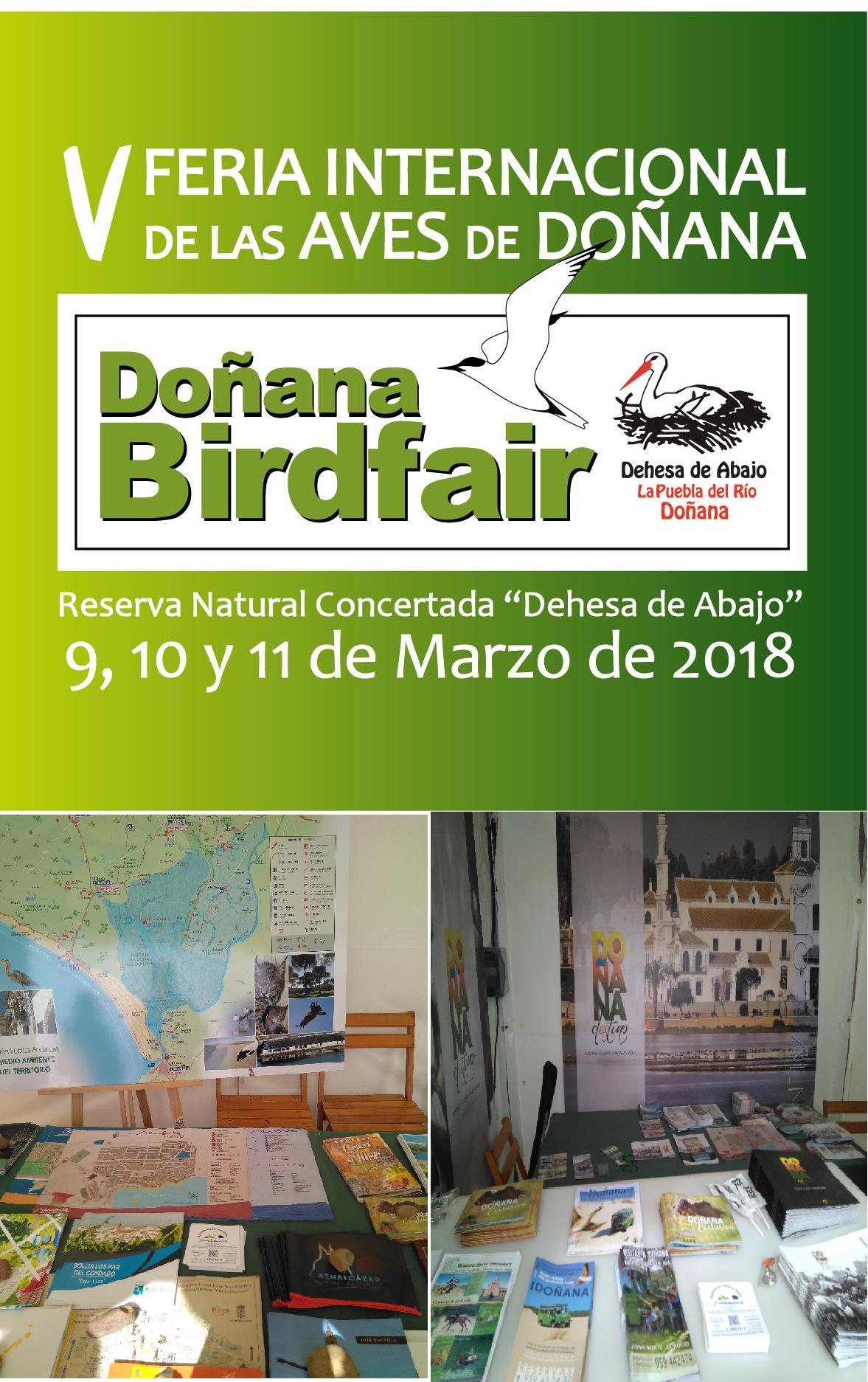 PORTADA DOÑANA BIRDFAIR 2018