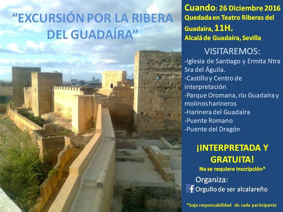 cartel ruta ribera del Guadaíra