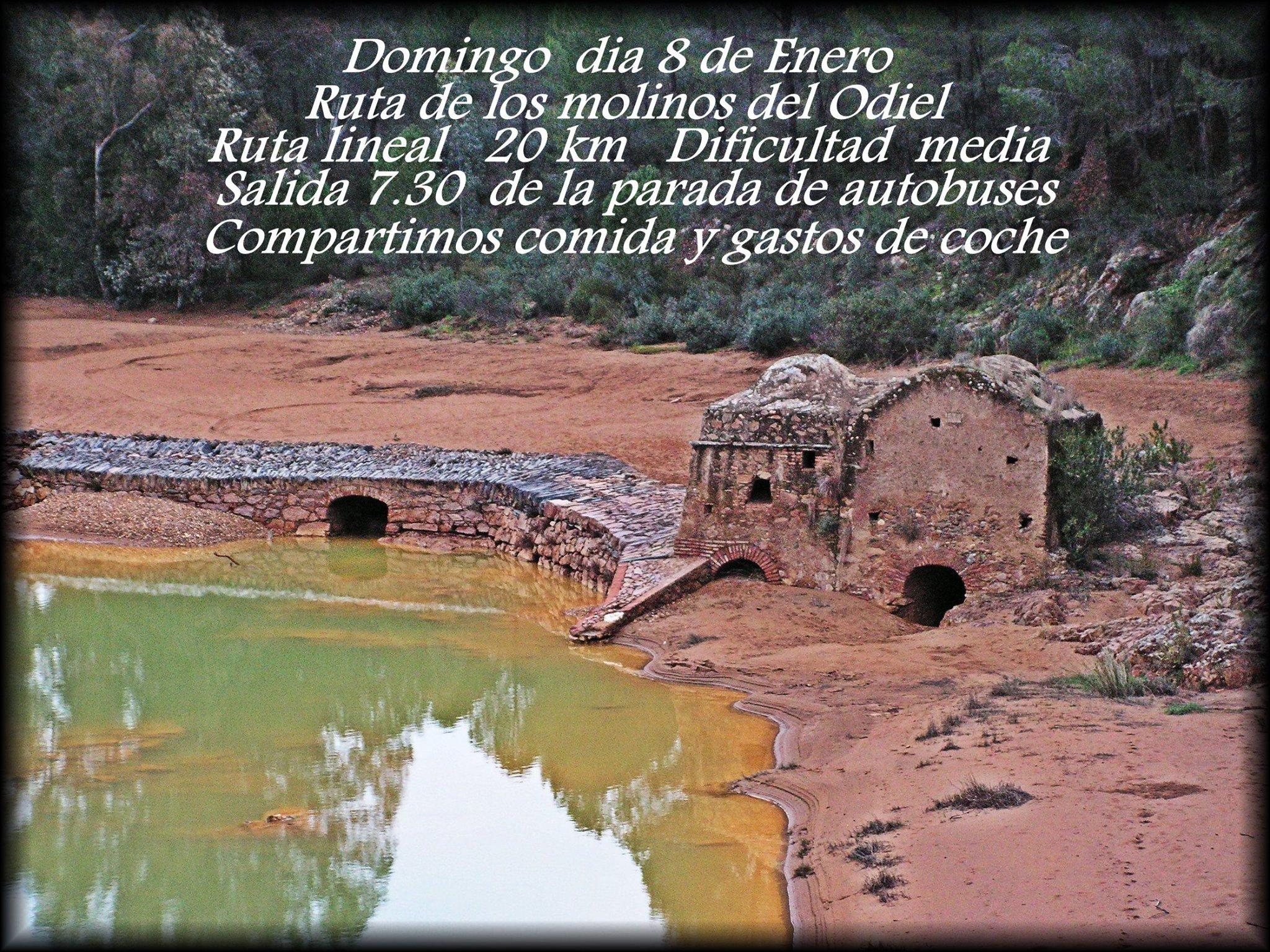 CARTEL RUTA MOLINOS DEL ODIEL